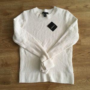 🆕 F21 Soft,Textured Sweater in Women's Medium
